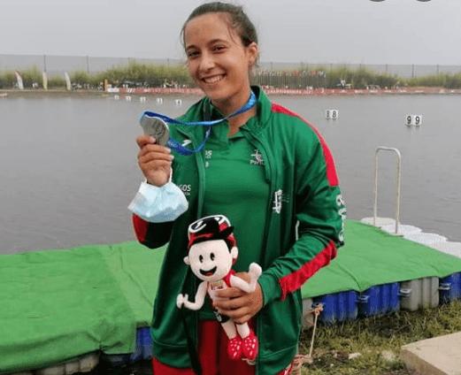 Beatriz Fernandes foi vice-campeã mundial júnior em Montemor-o-Velho