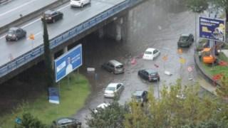 Chuva provoca queda de árvores e inundações em Braga