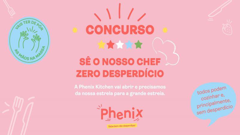 Torna-te um Chef Zero Desperdício com a Phenix