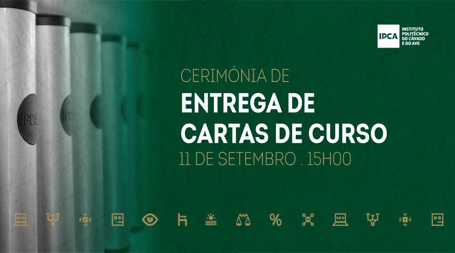 Barcelos | IPCA entrega Cartas de Curso em cerimónia marcada para dia 11