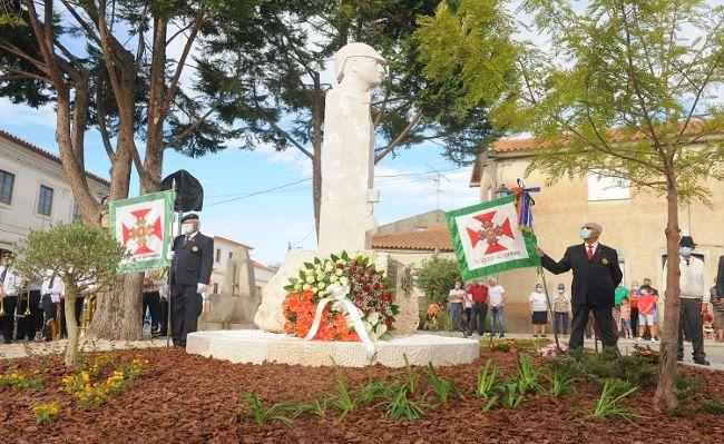 Monumento aos Combatentes homenageia Arazedenses