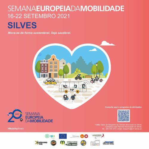 De 16 a 22 de setembro: MUNICÍPIO DE SILVES ASSOCIA-SE À SEMANA EUROPEIA DA MOBILIDADE
