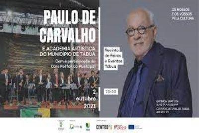 Tábua recebe concerto de Paulo de Carvalho em Outubro