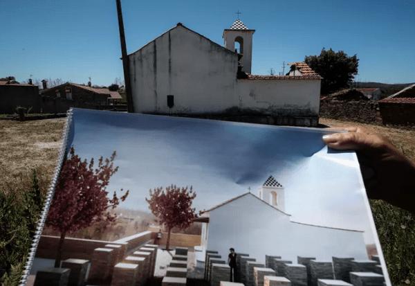Única capela que ardeu nos incêndios de Pedrógão Grande reabre terça-feira ao culto