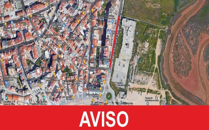 TRÂNSITO CONDICIONADO NOS DIAS 18 E 19 DE OUTUBRO NA AVENIDA DO RIO EM ARMAÇÃO DE PÊRA