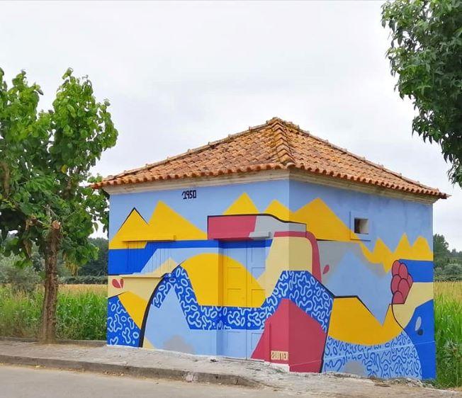 Arte Urbana em Anadia