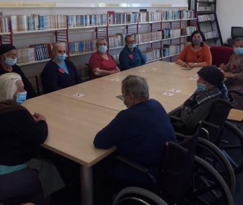 Cantanhede   Biblioteca Municipal promoveu atividades de Leitura para seniores
