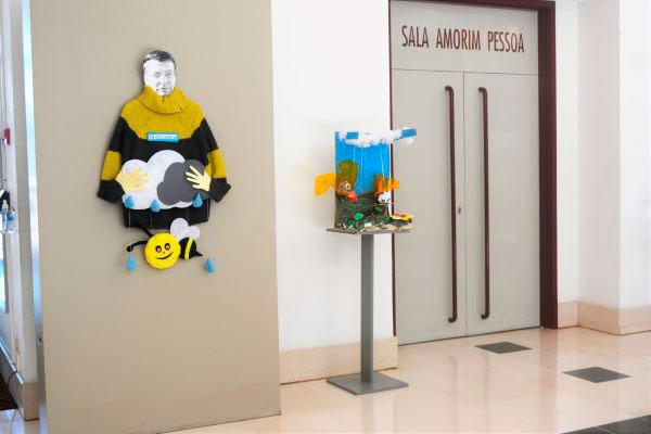 Alunos dos J.I. e EB1 do Agrupamento de Escolas Marquês de Marialva, Carlos de Oliveira foi fonte inspiradora para exposição de trabalhos infantis