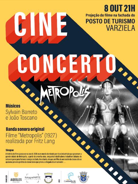 """Cine-concerto """"Metropolis"""" a 8 de Outubro em Cantanhede"""