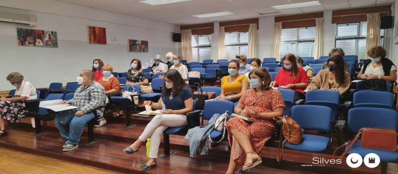 Silves | UTENTES DOS POLOS DE EDUCAÇÃO AO LONGO DA VIDA RECEBEM FORMAÇÃO NO NÚCLEO REGIONAL DA LIGA PORTUGUESA CONTRA O CANCRO