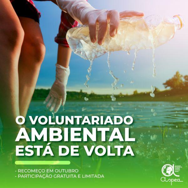 ASPEA APRESENTA AS ATIVIDADES DE VOLUNTARIADO AMBIENTAL PARA 2021/2022