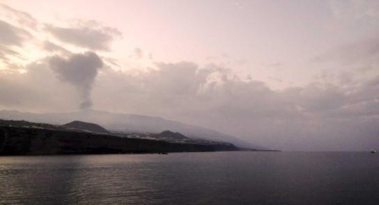 Neblina em ilhas dos Açores pode ser consequência do vulcão de La Palma