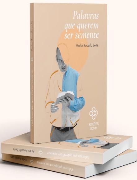 """Padre Rodolfo Leite Lança livro com """"Palavras que querem ser semente"""""""