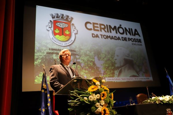 Discurso do Presidente da Câmara Municipal da Marinha Grande Aurélio Ferreira