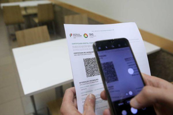 Quase 7,6 milhões certificados emitidos em Portugal desde junho