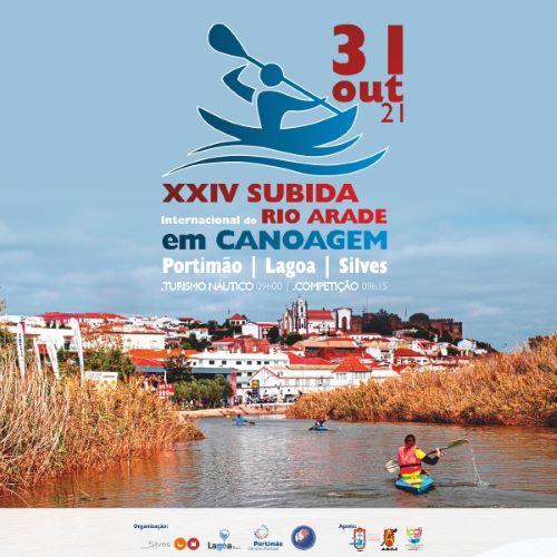 Silves | XXIV SUBIDA INTERNACIONAL DO RIO ARADE EM CANOAGEM REALIZA-SE A 31 DE OUTUBRO