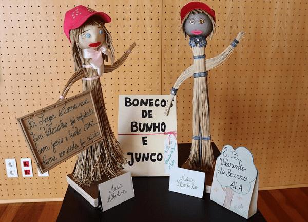 Exposição do Bunho e do Junco na Biblioteca Municipal de Anadia
