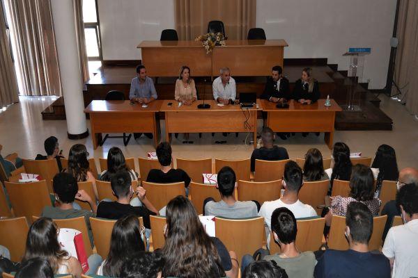Câmara de Águeda recebe novos alunos da ESTGA