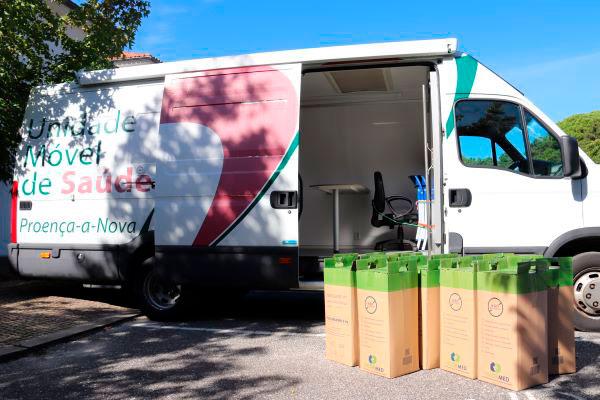 Proença-a-Nova   Unidade Móvel de Saúde recolhe resíduos de medicamentos